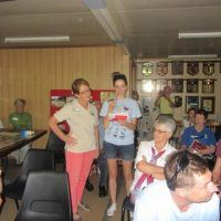 At the butterflies and bugs workshop, during the visit of 'the red envelope hunters'