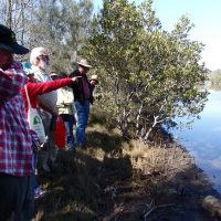 On the Landcare week bus tour