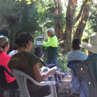 Bush Tucker field day at Lakeside Drive Landcare in March