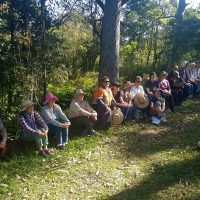 Participants at Kenibea Landcare site